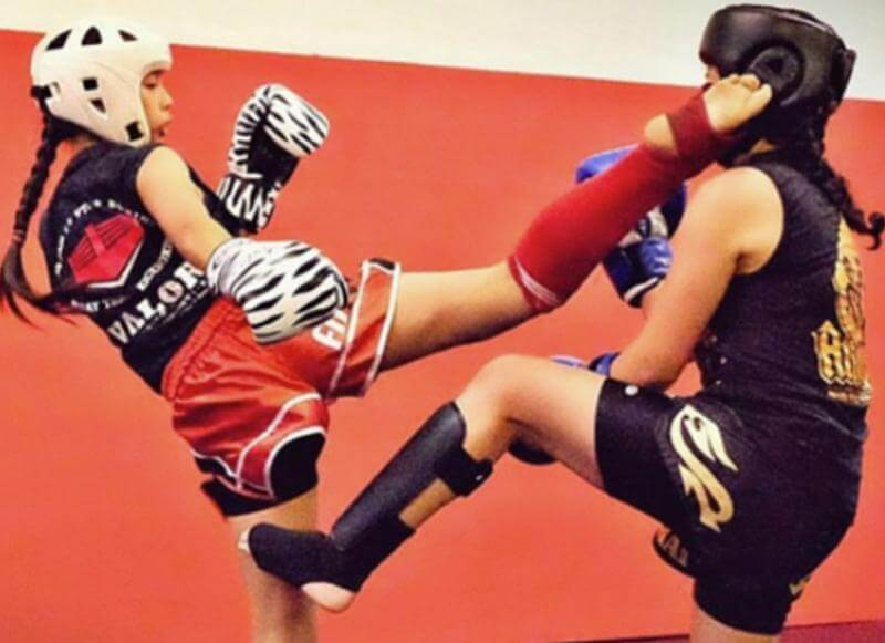 teen martial arts muay thai